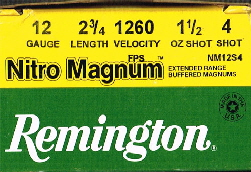 Remington Nitro Magnun 12-4