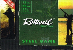 Rottweil Steel Game 12-70